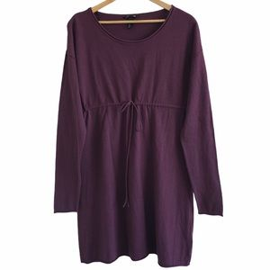 H&M MAMA maternity tunic dress purple large